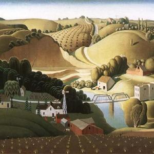 Stone City, Iowa (Grant Wood)